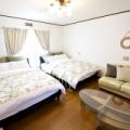 New room!沖縄県恩納村!「ムーンビーチ」まで徒歩1分! 「青の洞窟」まで車で10分 ! Flat Peace Chair House -moon beach-