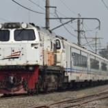 『新型客車も早くも波動用に!特急ArgoDwipanga Tambahan』の画像