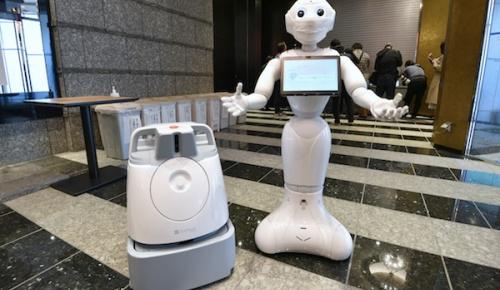 東京都がコロナ患者のホテルに人型ロボットとAI掃除ロボットを導入 海外からは概ね肯定的な反応