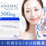 『【トラネミックの効果】通販で500・250mgのTranemic(トラネキサム酸)を購入可能!トランサミンとの違いとは』の画像