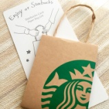 『スターバックスカードギフト ホリデーホワイト&福袋』の画像