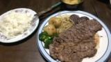 ガチニートの作ったステーキ定食www(※画像あり)