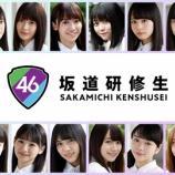 『【坂道研修生】SR審査で推しに『ひらがなけやきメンバー』を挙げていた研修生一覧がこちら・・・』の画像