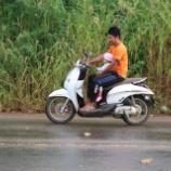 『バイクは何人乗り?』の画像