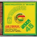 "『Jah Thomas「Greensleeves 12"" Rulers: Midnight Rock 1981-'84」』の画像"