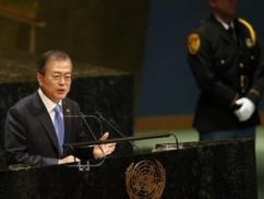【国連演説】ムン大統領、盛大にやらかし赤っ恥wwwww 意味不明な事を発し続け各国首脳ドン引きwwwww