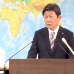 茂木大臣、共同通信記者の毎年同じ「靖国ガー!」の質問をバッサリぶった斬る!
