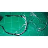 『近視で老眼なオッサンにオススメの保護眼鏡を紹介する。3M 保護めがね SF201AF と 3M BX ルーペ+1.5D付き 保護めがね 11374。』の画像
