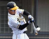 【阪神】森越、トライアウトで猛アピール 本塁打&右前打&四球 31歳現役続行なるか
