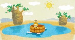 【けものフレンズ】第9話 感想 湧き出す温泉と新情報
