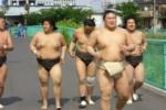 交野で相撲練習してた関脇力士『豪栄道』が里帰り!~母校へ行ったとさ~