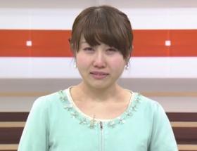 【放送事故】美人気象予報士が生放送中に鼻水垂らしながら号泣wwww