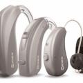 補聴器の種類 ポケット形 耳かけ型 耳穴型 骨伝導型