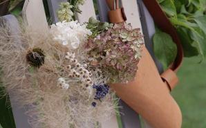 花束専用に作られたステキなバッグ