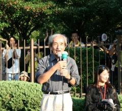 国会前で反コロナ集会、「PCR検査は全く当てにならない」と大橋眞氏