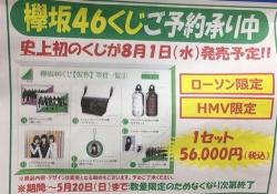 【欅坂46】高っ!「欅坂46くじ」価格がなんと56,000円www
