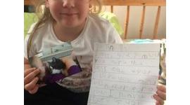【英国】天国に逝った猫のティン・ティンに手紙を書いた5歳女児に返事が届く…母タマラさん「胸に熱いものがこみ上げてきた」