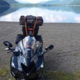 『富士五湖の湖畔で最強ソロワンポールテント試して来た話【UJack】【西の海キャンプ場】』の画像