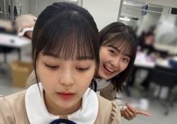 乃木坂46・柴田柚菜&清宮レイ、レイちゃんの表情がwwwwwww