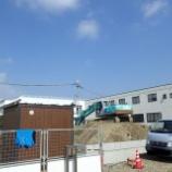 『新工場建設工事 進捗状況①』の画像