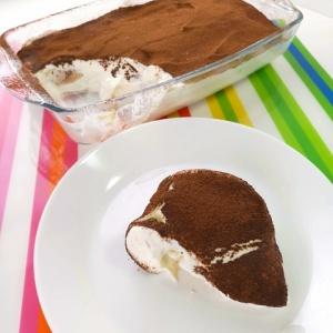 ムーンライトでティラミス風ケーキ