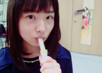 【AKB48】岩立沙穂、細長い棒をチュパチュパ