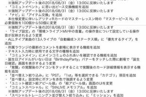 【ミリシタ】シアターデイズVer 1.3.650が公開!