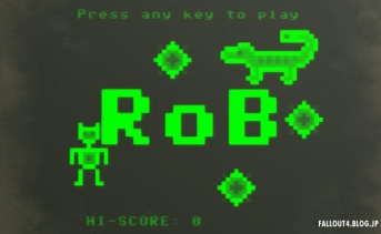 RoB the Robot minigame