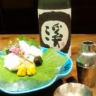 『鱧と日本酒』の画像