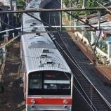 『次のチャンスは一か月後・・・205系埼京線ハエ1編成全検出場&運用復帰』の画像