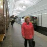 『赤の広場 チアトラリナヤ駅周辺 ヨーロッパ周遊記3』の画像