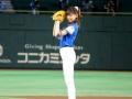 【動画】西内まりやの始球式wwwwwwwwwwwww