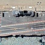【中国】初の国産空母「山東」の甲板に深刻な損傷か?衛星画像にネット上で物議