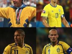 スウェーデンであの「イブラヒモビッチ」を超えるレジェンド選手www