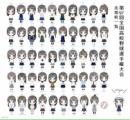 【画像あり】今回の甲子園出場校49校+1校の女子の制服を全部並べてみました!
