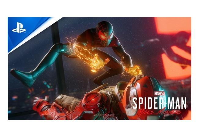 PS5独占「スパイダーマンマイルズモラレス」に4K60fpsモードが搭載されると発表