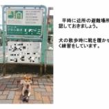『ペットの災害への備え、注意点等 — 警視庁警備部災害対策課 ツイートより』の画像