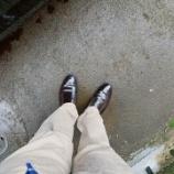 『【いいわ〜】レザーディフェンダー×ALDENコードバン靴』の画像