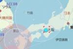 台風12号接近中!!交野市への影響は…!?