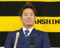 【阪神】西勇輝、現状維持の2億円でサイン 来季4年契約の3年目「何とか矢野さんを胴上げ」21試合 11勝5敗 2.26