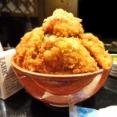 ■八丁堀の「ぽん太」で、デカ盛りソースカツ丼!