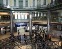 『東京ステーションギャラリー回廊に東京駅の歴史展示』の画像