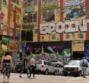 落書きアートの聖地NYファイブポイントで再開発を前に落書きを白塗りしたビルオーナーに7億円賠償判決