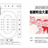 『6月17日桔梗町会大運動会プログラム』の画像