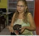 【写真あり】ブラジル美女が銃で撃たれるも、ブラジャー(黒のレース)に当って助かる!