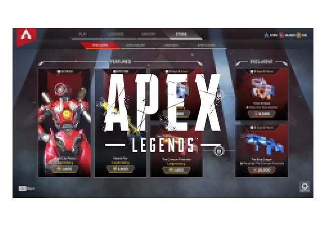 【APEX LEGENDS】ショップが更新!たくさんの武器スキンを追加へ