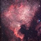 『はくちょう座の北アメリカ星雲』の画像