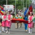 2018年横浜開港記念みなと祭国際仮装行列第66回ザよこはまパレード その41(創価学会富士鼓笛隊)
