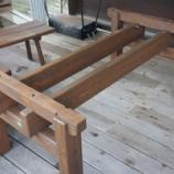 『杉の外用テーブル・お祝ボード』の画像