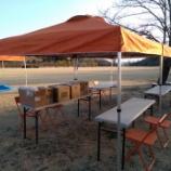 『観音山ファミリーパークトレイルランニング大会で初ボランティアを体験』の画像